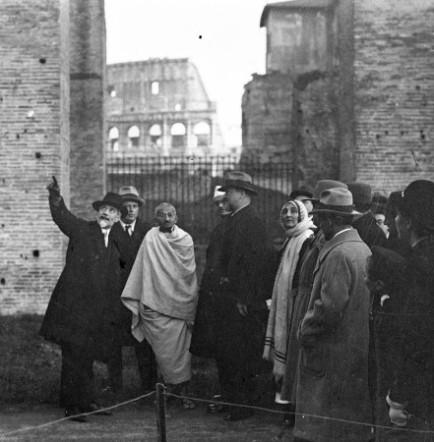 Gandhi_Roma_1931