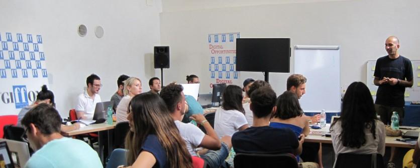 GiFFoni Hub. Creativi al lavoro