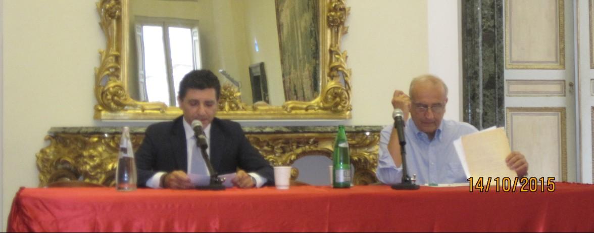 14 ottobre 2015 Giovanni De Luna ed Enrico Bufalini