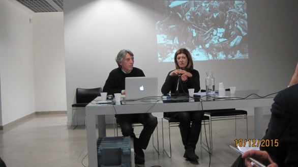 Patrizia Marchesoni insieme a Lucio Fabi,