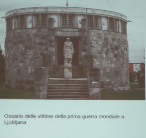 Ossario vittime prima guerra mondiale a Ljubijana