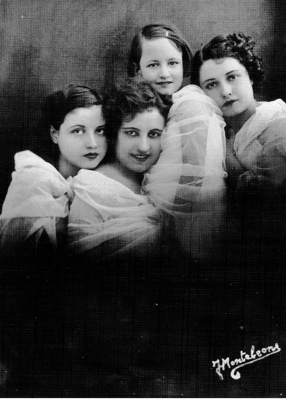 quattro ritratti femminili