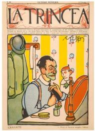 "Luigi-Daniele-Crespi-Cravatte-copertina-de-""La-Trincea""-n.-35-16-gennaio-1919"